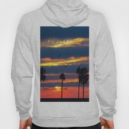 Palm Tree Sunset Hoody