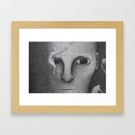 Black and White 5 Framed Art Print