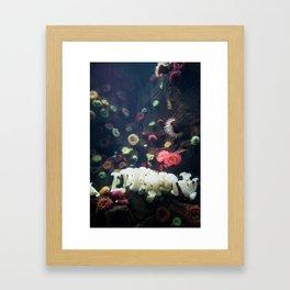 Sea Garden Framed Art Print
