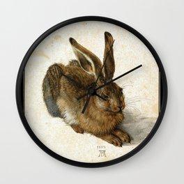 Albrecht Durer - Hare Wall Clock