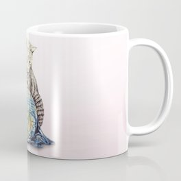 In which our feline deity shows restraint  Coffee Mug