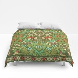Green Garden Comforters