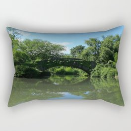 Gapstow Bridge - Central Park Rectangular Pillow