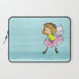 Sweet Little Pixie Curtsy  Laptop Sleeve