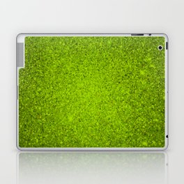 Peridot Green Sparkling Jewels Pattern Laptop & iPad Skin