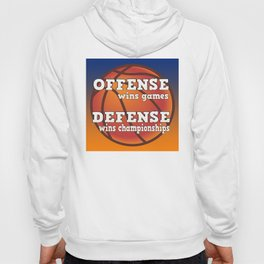 Winning philosophy for team sports Hoody