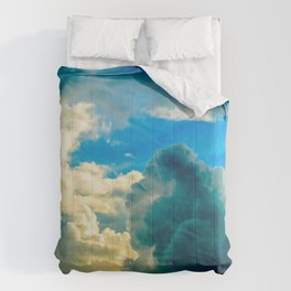 Dramatic Clouds Of A Summer Sunset Comforters