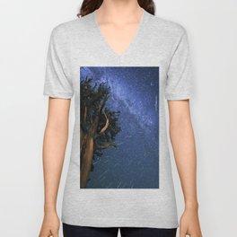Perseid Meteors Unisex V-Neck