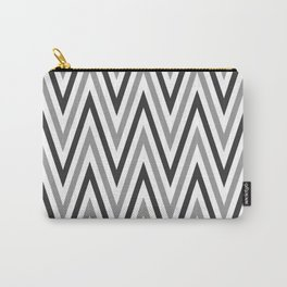 Wannabe Zebra | Stripes | Chevon Stripes Carry-All Pouch