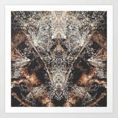 Fantasy Forest Floor  Art Print