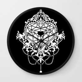 RICH BY HEART Wall Clock