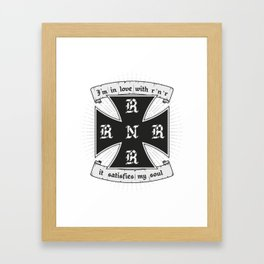 R'N'R Framed Art Print
