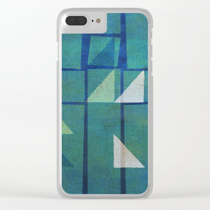 Night Sailing Clear iPhone Case