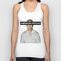 britney spears Tank Tops featuring American Psycho - Britney Spears by hunnydoll