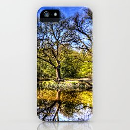 The quite Pond iPhone Case