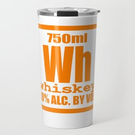 """""""Periodic Whiskey"""" tee design. Awesome and unique fabulous gift to your family and friends!  Travel Mug"""