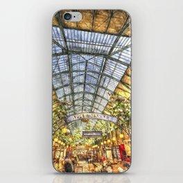 The Apple Market Covent Garden London Watercolour iPhone Skin