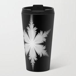 Fractal Snowflake Travel Mug