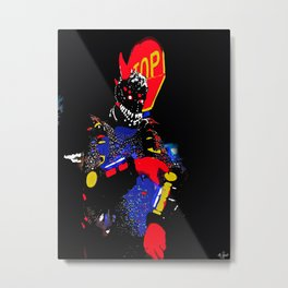 The Monster I Met In  the French Quarters of New Orleans Metal Print