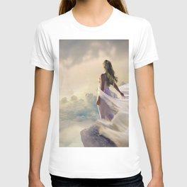 Magical Bride Wedding Fantasy Castle T-shirt