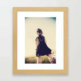 Pretty Vicious Things Framed Art Print