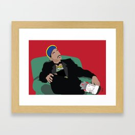 Still The Fresh Prince Poster Framed Art Print