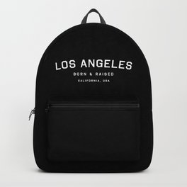 Los Angeles - CA, USA (Black Arc) Backpack