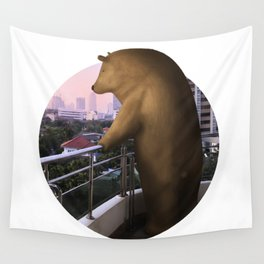 In the distance Wall Tapestry
