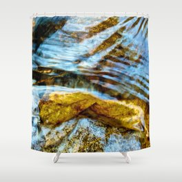 Lay me Down (By the River) Shower Curtain