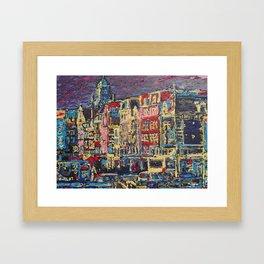 Amsterdam Nieuwe Zijds Voorburgwal Framed Art Print