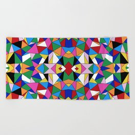 Kaleidoscope III Beach Towel