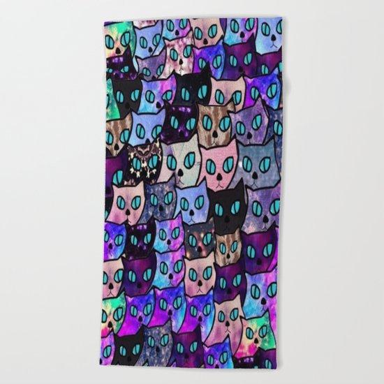cat-64 Beach Towel