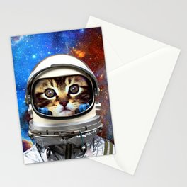 Astronaut Cat #2 Stationery Cards