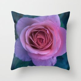 bed of roses: lilac Throw Pillow