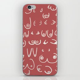 You're perfect. All of you. Don't let them jerks tell you otherwise iPhone Skin