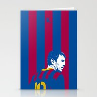 messi Stationery Cards featuring Messi Barcelona by lockerroom51