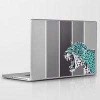 jaguar Laptop & iPad Skins featuring jaguar by aceta