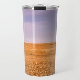 Ripening Cereal Rural Landscape in Australia Travel Mug