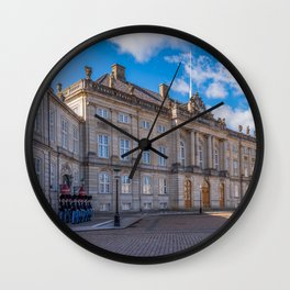 Changing the guard in Copenaghen Wall Clock