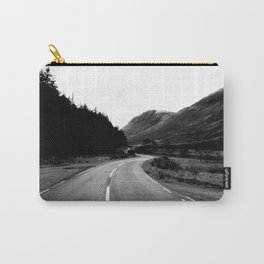 Road through the Glen - B/W Carry-All Pouch