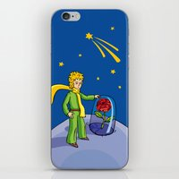 little prince iPhone & iPod Skins featuring Little prince by Dennis Morgan