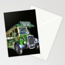 Vintage Bus Stationery Cards