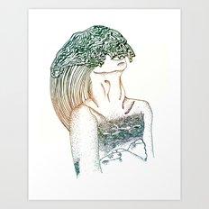 Drowning Both Ways Art Print