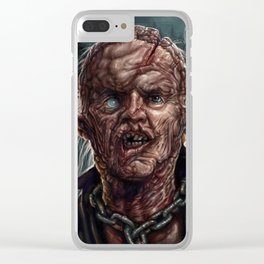 Jason Voorhees - Unmasked - Friday the 13th Clear iPhone Case