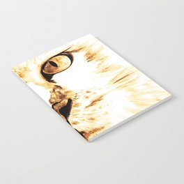 Cat with an attitude Notebook