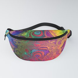 Color Explosion Psychedelic Abstract Art 2 Fanny Pack