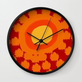 It's So Hot! Wall Clock