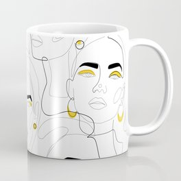 In Mustard Coffee Mug