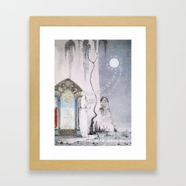 East of the Sun and West of the Moon - The Lassie & her Grandmother Framed Art Print