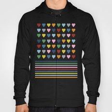 Hearts Stripes Hoody